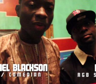 Logan - Michael Blackson - Feels Like Africa - behind the scenes
